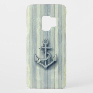 Vintage nautical classy anchor Case-Mate samsung galaxy s9 case