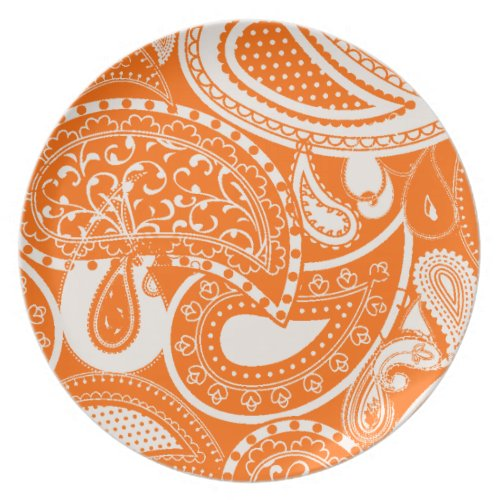 Vintage Paisley Pattern Plates fuji_plate