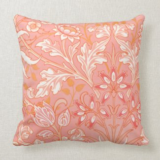 Vintage Pink Floral American MoJo Pillows