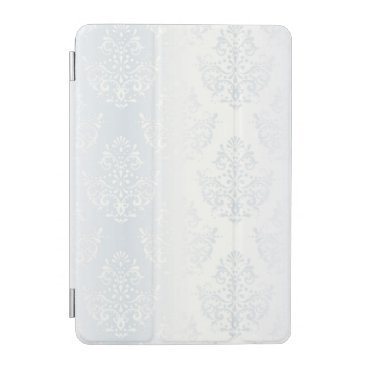 vintage silver damask barely there victorian chic iPad mini cover