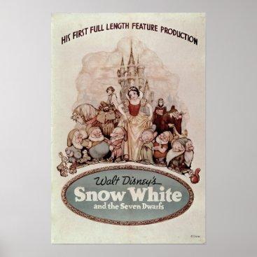 Vintage Snow White Poster