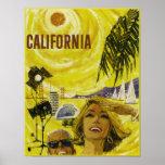 Vintage Travel poster, California Poster