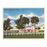 Vintage Venice, Florida public beach Postcard