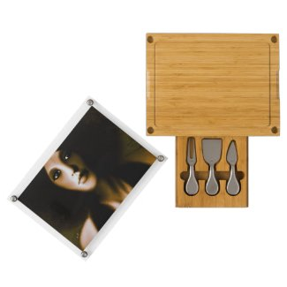 Vintage Woman Concerto&Tools Cheese Board Rectangular Cheeseboard