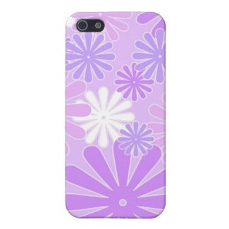 Violet florals - iPhone case Cases For iPhone 5