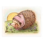 Violet the Hedgehog Postcard