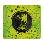 Virgo Zodiac Sign Earth element Cutting Board