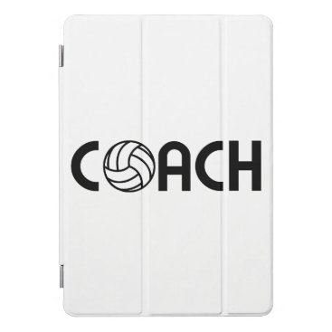 Volleyball Coach iPad Pro Cover
