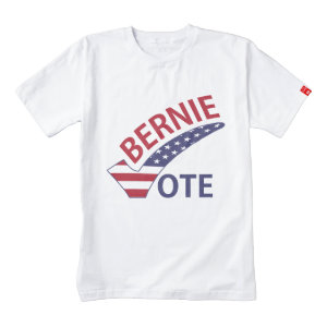 Vote Bernie Sanders 2016 Zazzle HEART T-Shirt