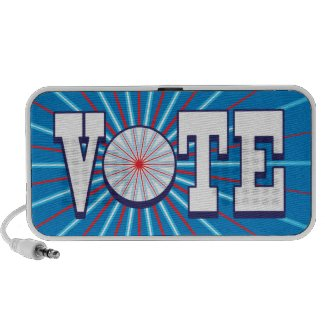 VOTE Speaker - Speak Your Mind & Promote The Vote doodle