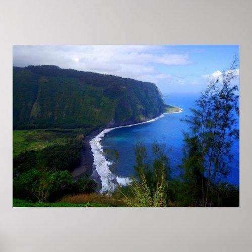 Waipio Valley Lookout, Hawaii, Print