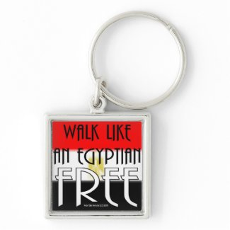 Walk Like An Egyptian: Free - Keychain keychain