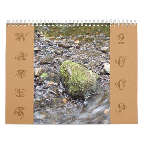 WATER 2009 Calendar calendar