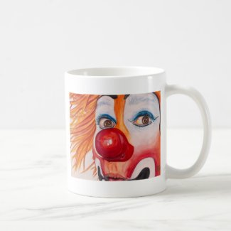 Watercolor Clown #10 Mugs