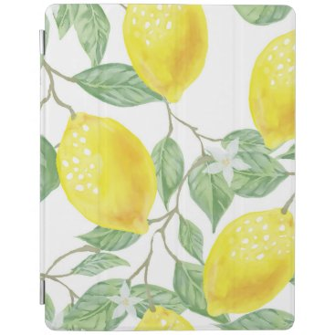 Watercolor Fruit Background iPad Smart Cover