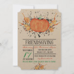 Watercolor Pumpkin Friendsgiving Invitation