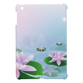 Waterlilies iPad Mini Cover