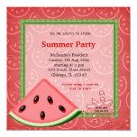 ❤️ Watermelon Summer Party Invitation