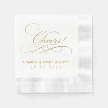 Wedding Napkins | Cheers Custom Design