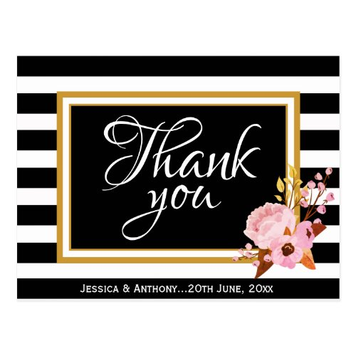 Wedding 'Thank You' Postcard
