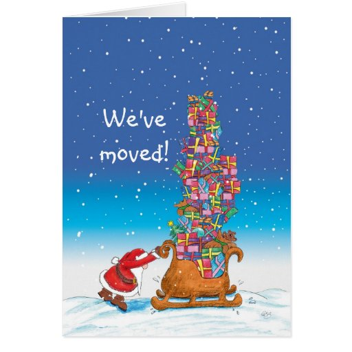 Weve Moved Moving Announcement For The Holidays