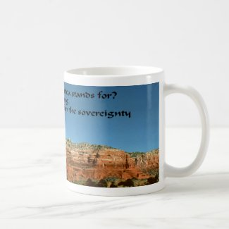 What does America stand for? Coffee Mugs