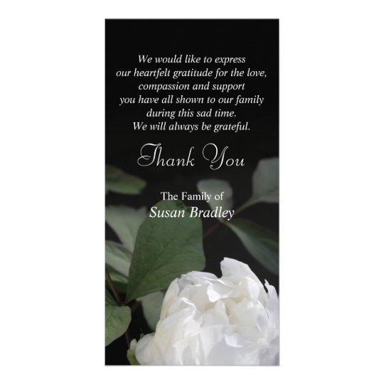 Yous Funeral Thank Wording