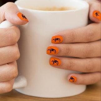 Wicked Witch Minx Nail Art