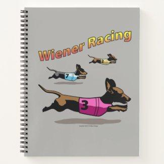 Wiener Racing spiral notebook