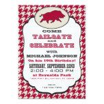 Fun Wild Hog Tailgate Birthday Party  Invitation