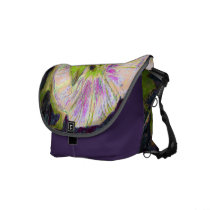Wild Morning Glory by Alexandra Cook rickshaw messenger bags