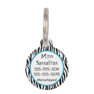 Wild Thing 2 Sided Pet ID Pet Nametag
