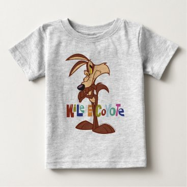 Wile Arms Crossed Baby T-Shirt