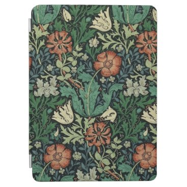 William Morris Compton Floral Art Nouveau Pattern iPad Air Cover