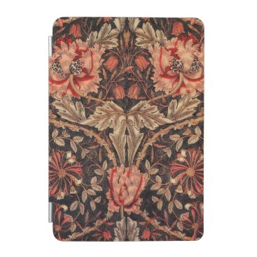 William Morris Honeysuckle Vintage Pattern iPad Mini Cover
