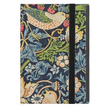 William Morris Strawberry Thief Floral Pattern Case For iPad Mini