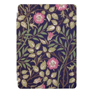 William Morris Sweet Briar Floral Art Nouveau iPad Pro Cover