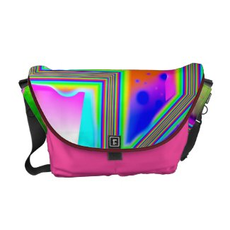Window into the Universe –Magenta & Cyan Intersect rickshaw_messengerbag