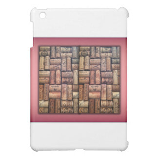 Wine Corks Collage iPad Mini Cases