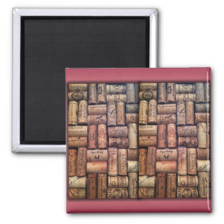 Wine Corks Collage Refrigerator Magnet