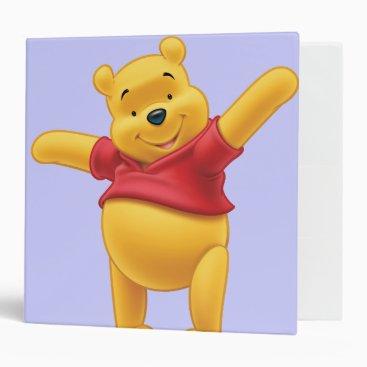 Winnie the Pooh 1 3 Ring Binder