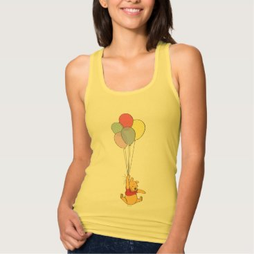 Winnie the Pooh and Balloons Tank Top
