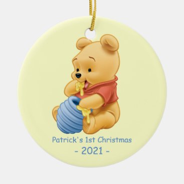 Winnie the Pooh | Baby's First Christmas Ceramic Ornament