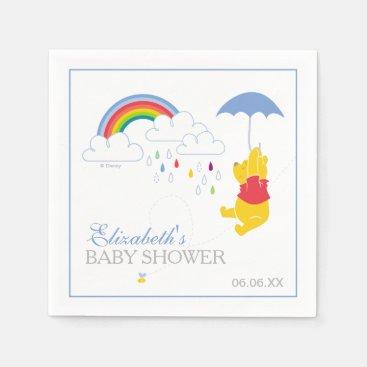 Winnie the Pooh | Boy Baby Shower Napkin