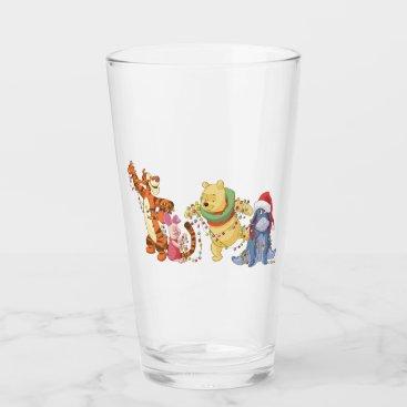 Winnie the Pooh | Christmas Lights Glass
