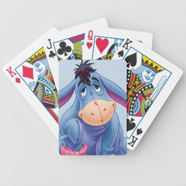 Winnie the Pooh | Eeyore Smile Bicycle Playing Cards
