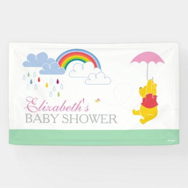 Winnie the Pooh | Girl Baby Shower Banner