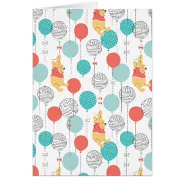 Winnie the Pooh | Hanging On Balloons Pattern
