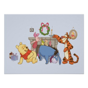 Winnie the Pooh | Hanging Stockings Poster
