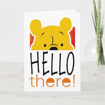 Winnie the Pooh   Hello There! Card